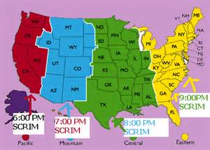 Map Of Eastern Time Zone by Eastern Time