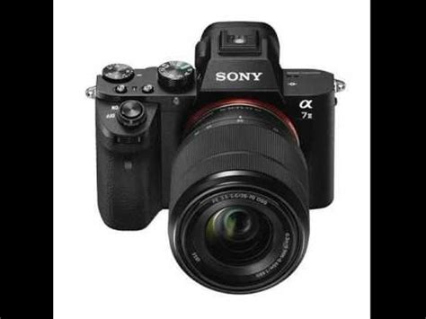 sony alpha a7ii mirrorless digital camera with fe 28 70mm