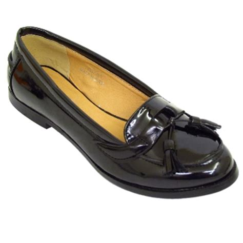 patent womens loafers womens black patent comfort loafers shoes