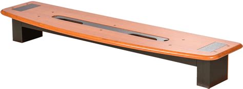 Desk Riser Shelf Wood by Premium Wood Desktop Riser Shelf 1 Caretta Workspace