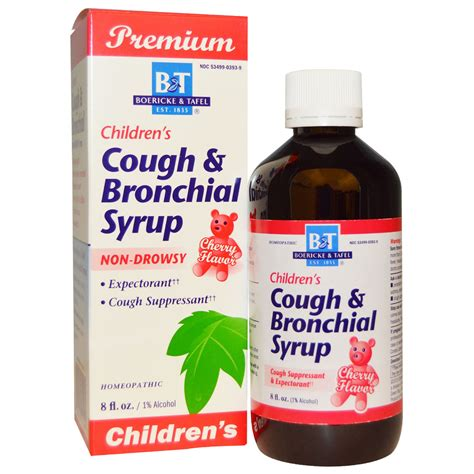 couch syrup boericke tafel premium children s cough bronchial