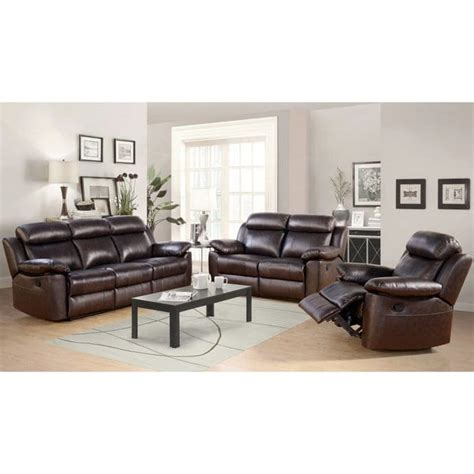 Best Prices On Living Room Furniture - shop abbyson braylen 3 top grain leather reclining