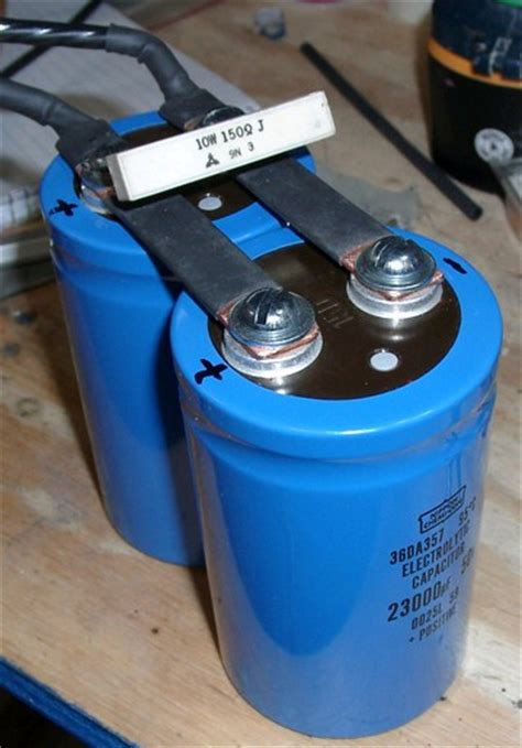 capacitor welder converting a welder from ac to dc