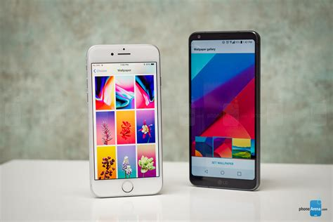 Lg Shine Might Be Better Than An Iphone by Apple Iphone 8 Vs Lg G6