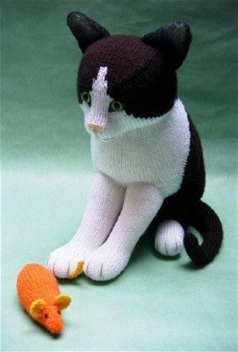 Alan Dart Black And White Cat Knitting Pattern   вязаные собаки и кошки alan dart ручные звери животные