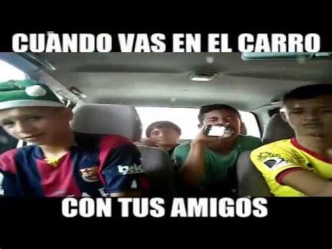 Cuando Vas En El Carro Con Tus Amigos Megadiversion   cuando vas en el carro con tus amigos especial de navidad