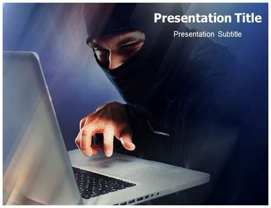 Cyber Crime Ppt Templates Cyber Crime Background Themes Slides Murder Powerpoint Template
