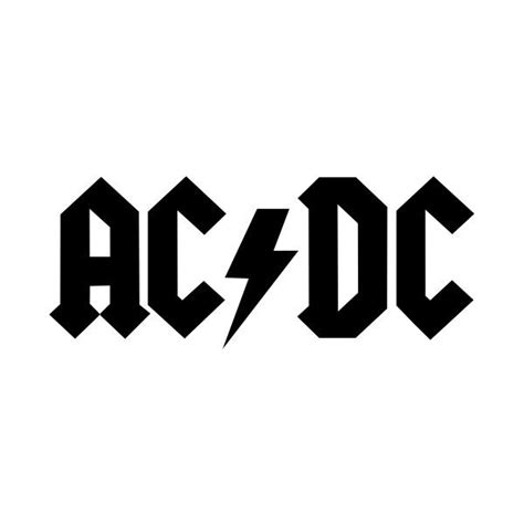 design logo rock band file acdc logo band svg liked on polyvore featuring music