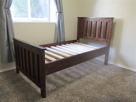 ana white twin bed ana white kentwood twin bed diy projects