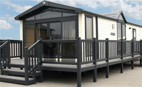 mobile home holidays uk caravan home upvc verandas balconys decking