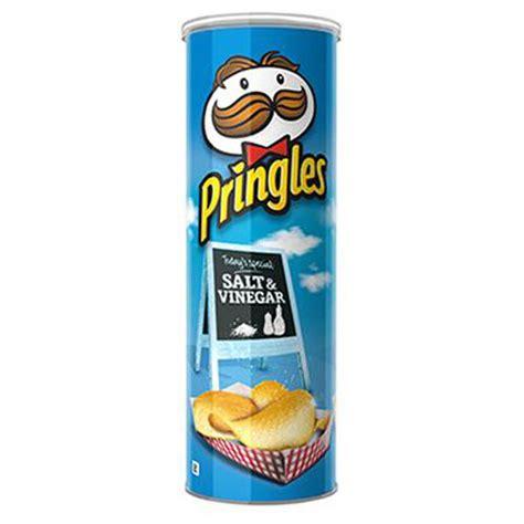 Pringles Salt Vinegar buy pringles potato chips salt vinegar 169g at