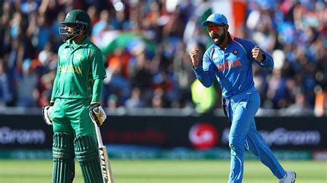 india vs pakistan cricket score india vs pakistan icc chions