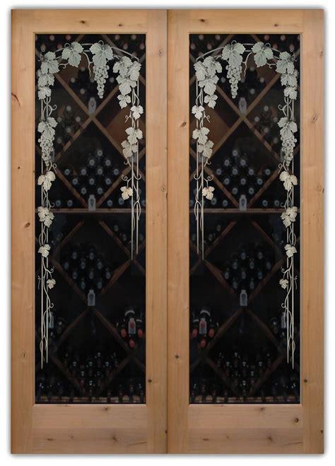 Glass Wine Cellar Doors Wine Cellar Doors Sans Soucie Glass