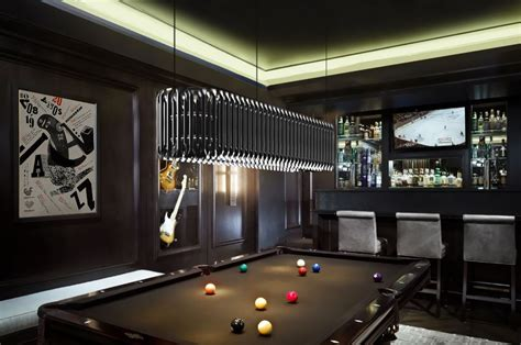 Matheny Sculptural Suspension L Ceilings Chandeliers Billiard Room Lighting Fixtures
