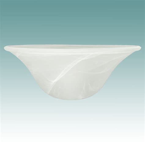 9802 faux alabaster shade 4 3 4 quot x 12 1 8 quot glass