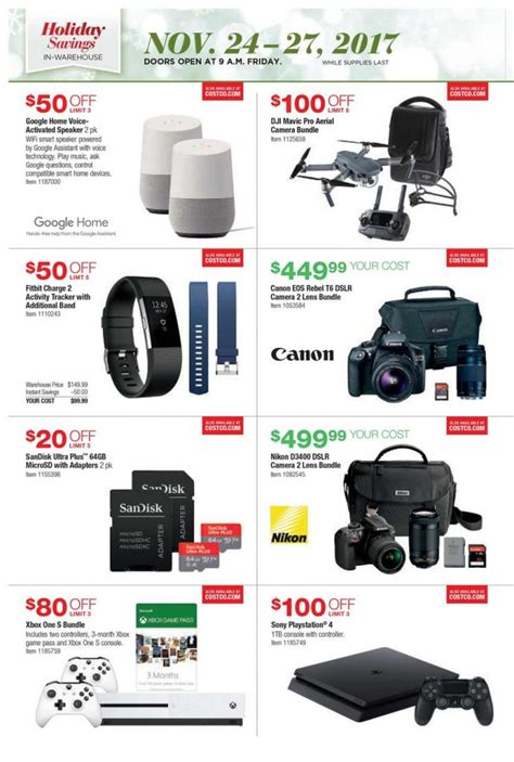 Costco Giveaway 2017 - costco black friday ad 2017