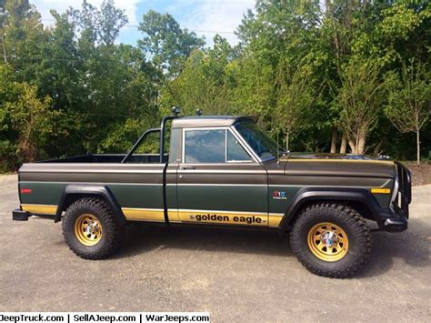 Jeep Truck For Sale 1977 Jeep J10 Golden Eagle