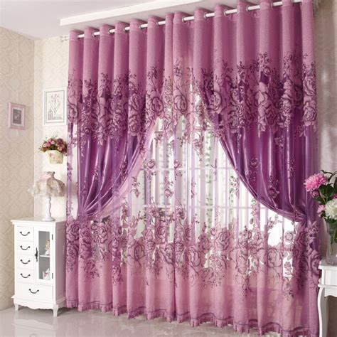top of curtain called 16 excellent purple bedroom curtains design ideas baby