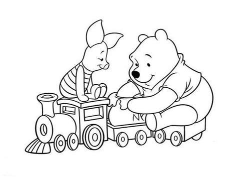 imagen de winnie pooh de navidad para colorear imagenes winnie pooh para colorear