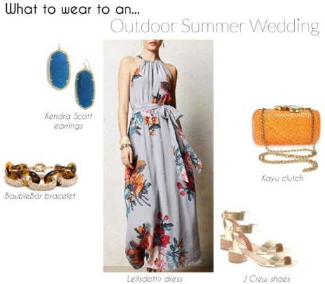 What To Wear To A Backyard Wedding by Four To Wear To A Summer Wedding