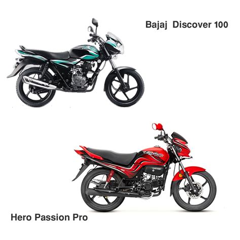 hero cbr bike hero passion pro vs bajaj discover 100