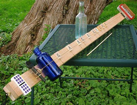 Handmade Musical Instruments - musical instrument diddly bow precursor to