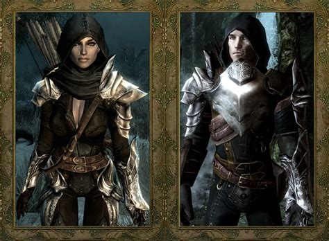 skyrim unpb huntress armor dread hunter and huntress armor echo at skyrim nexus