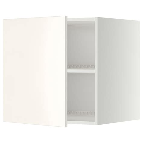 schrank 60x60 metod top cabinet to fridge freezer white veddinge white