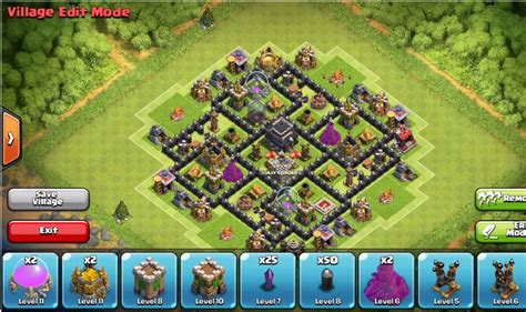 best layout strategy for clash of clans clash of clans town hall 7 defense coc th7 best trophy