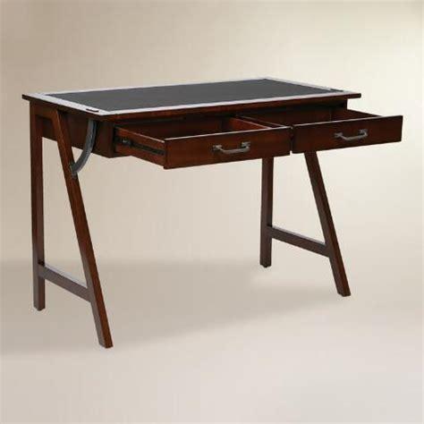 world market desks wood darcel writing desk world market