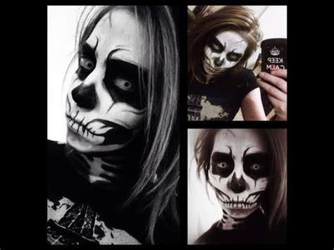 skull makeup tutorial youtube
