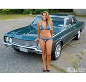 Girls Of Popular Hot Rodding 1968 Buick Skylark Sedan Melissa