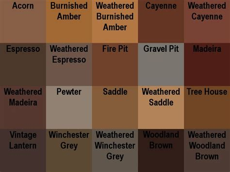 names of brown colors shades of brown buscar con class