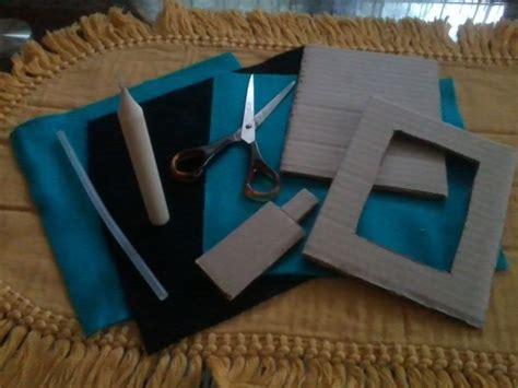 membuat bahan kerajinan dari kardus cara membuat kerajinan tangan lu hias dan pigura dari