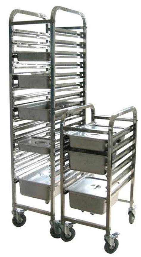 Food Racks by China Stainless Steel Mobile Food Pan Rack Fsc Mpr 01