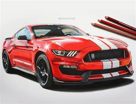 mustang drawing ford mustang shelby gt350 drawing miah draw to drive