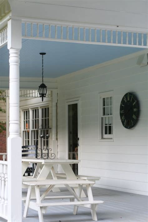 pretty practical the history of quot haint blue quot porch ceilings apartment therapy