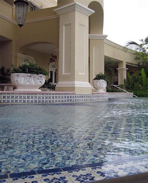 best pool tile 17 best images about ceramic tile around pinterest on