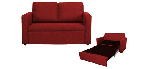 Superior Red Couch Living Room Ideas #1: Red-sofa-bed-easy-2-seater-sofa-bed-red-5-colours-gcedact-.jpg