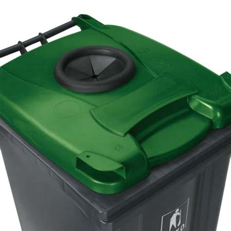 Wheelie Bin (140 Litre) with 2 Wheels   Plastic Containers