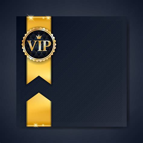 Vip Discount Card Template by Vip Luxury Background Template Vectors 05 Free