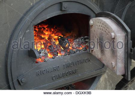 steam fireplace steam engine stock photo royalty free image
