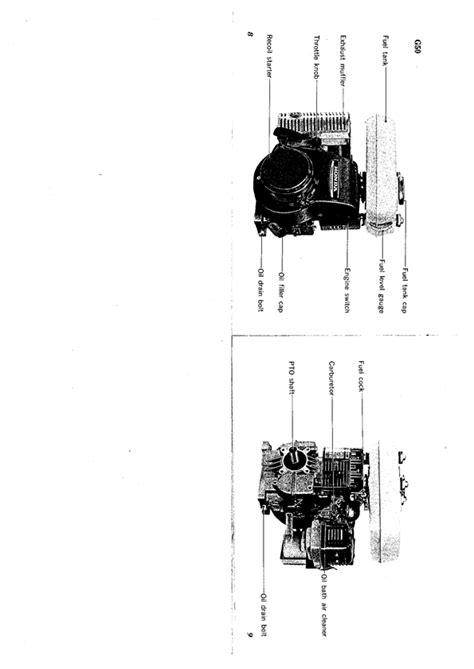 honda g65 engine 1966 67 greenfield hd 8 ride on mower outdoorking repair