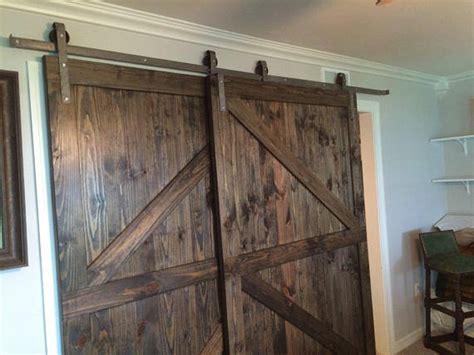 bypass barn door hardware on sale bypass sliding barn door hardware kit with track