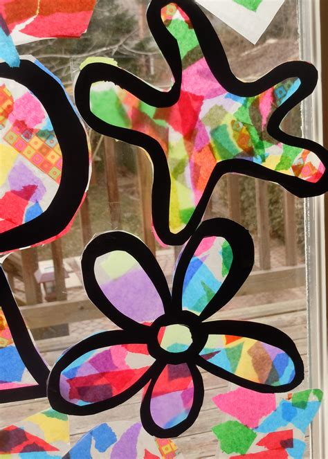 Stained Glass Tissue Paper Craft - 301 moved permanently