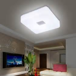 Living Room Led Ceiling Lights Free Shipping Modern Led Flush Mount Surface Mounted Square Shape Led Ceiling Light For Living