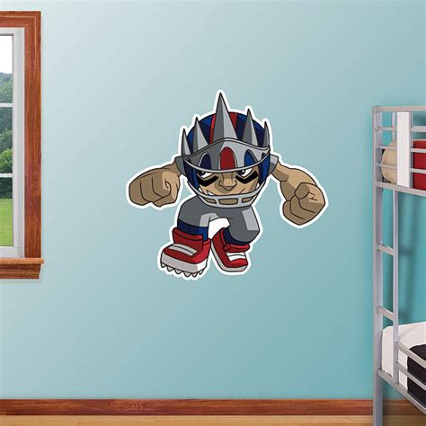 ny giants wall decor new york giants rusher wall decal shop fathead 174 for new