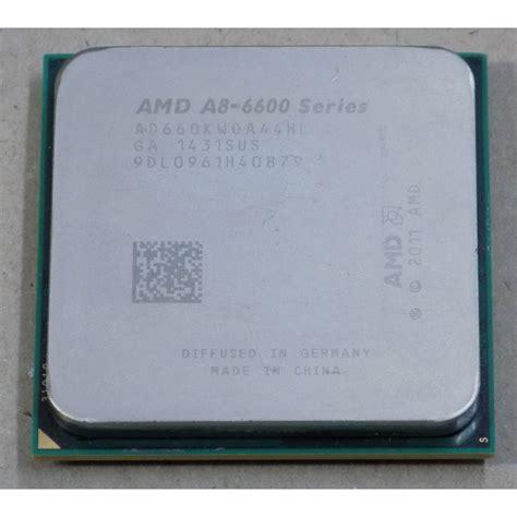 Processor Amd A8 6600k 3 9 Ghz amd a8 6600k series cpu a8 6600 ad660kwoa44hl a8 6600 fm2
