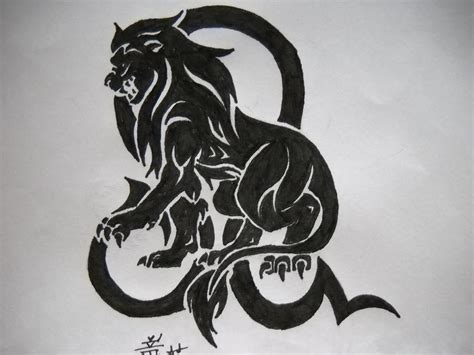 tattoo design zodiac sign leo free tattoo designs zodiac tattoos tribal leo tattoo