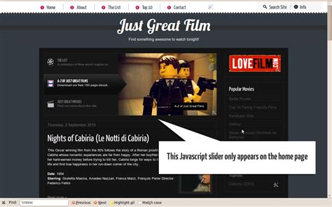 Content Section buster how to add a featured content section on